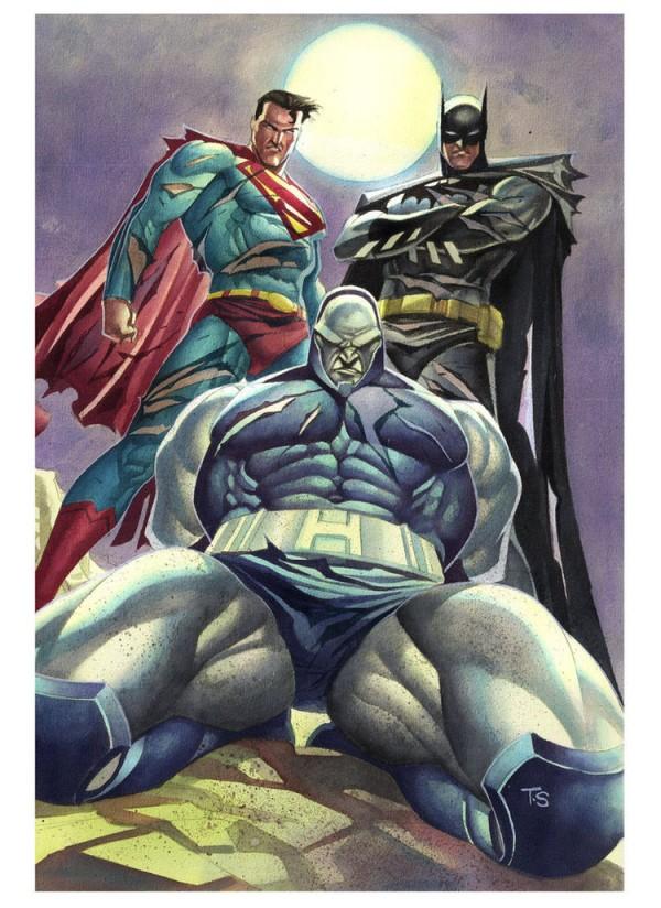 Taking out Darkseid