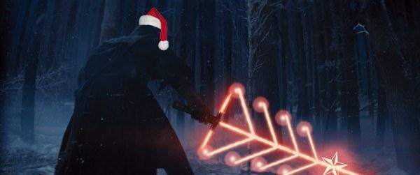 Holiday Lightsaber