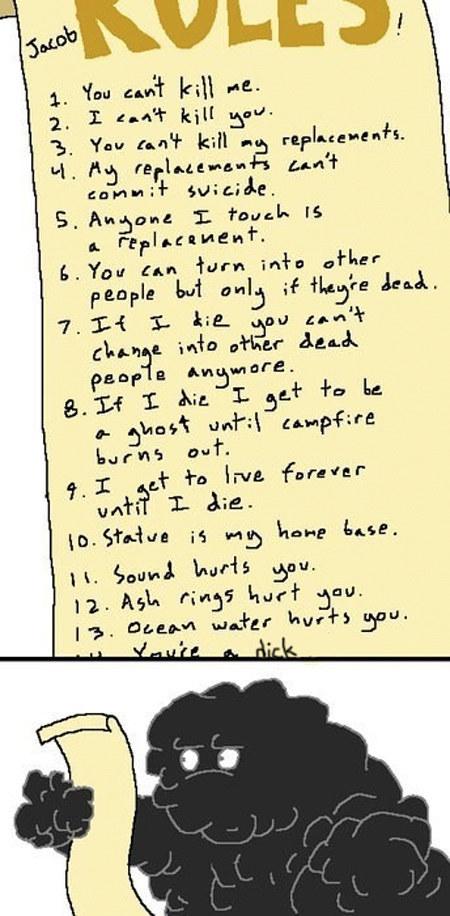 Jacob's Rules