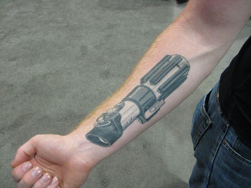 Lightsaber Tattoo