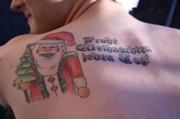 Shoulder Santa