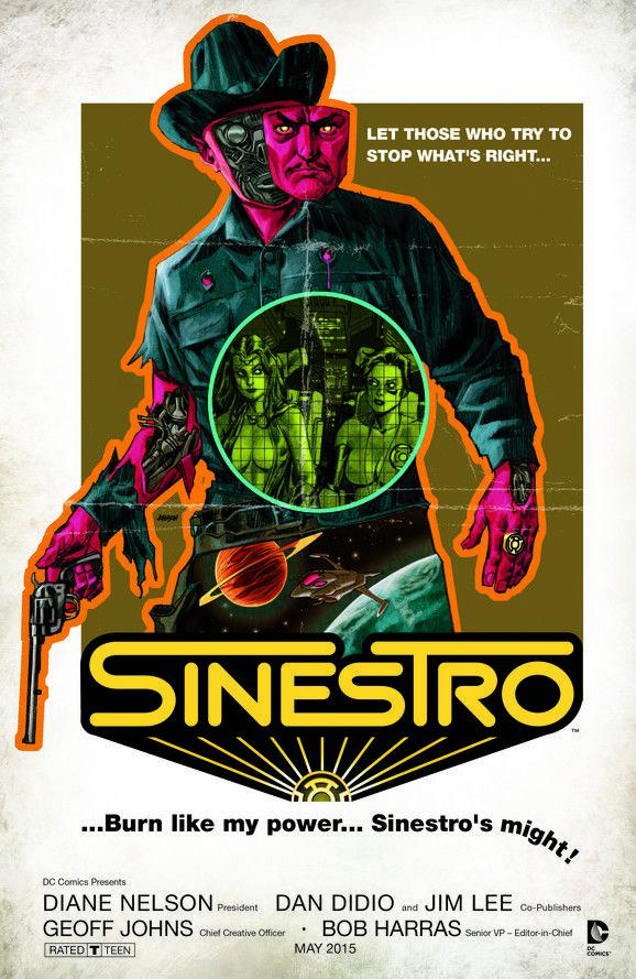 Sinestro Cover