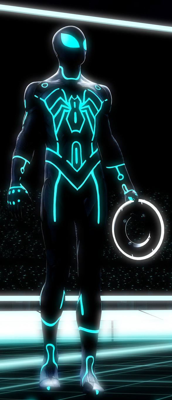 Tron Spider-Man