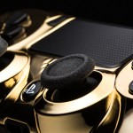 Gold PS4 controller 2