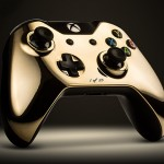 Gold Xbox One controller 1
