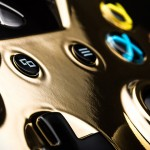Gold Xbox One controller 2