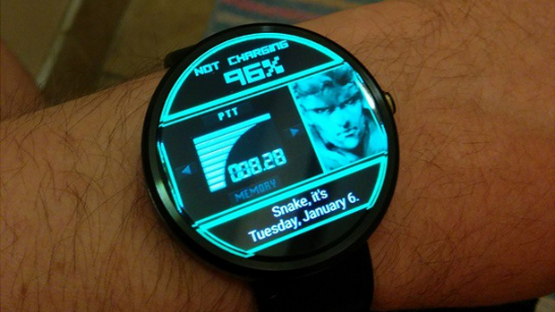 Metal Gear Solid smartwatch 1