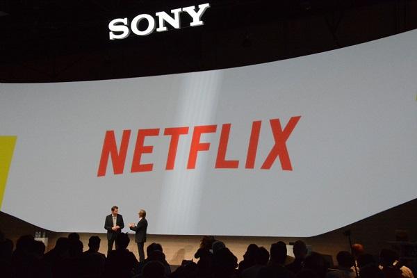 Sony Netflix CES 2015
