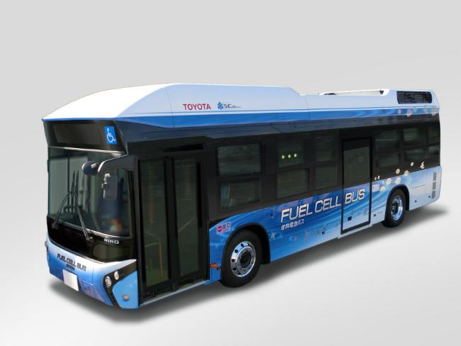 Toyota - hydrogen bus