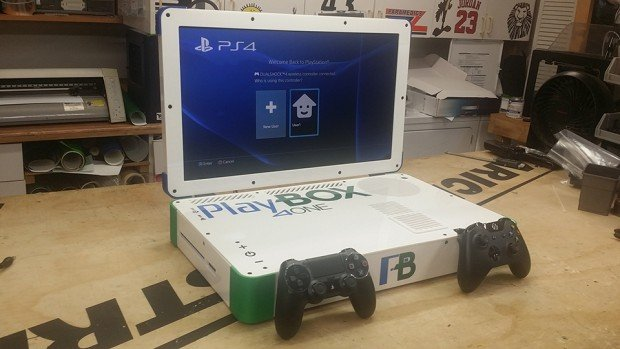 Xbox One PS4 laptop mod 1