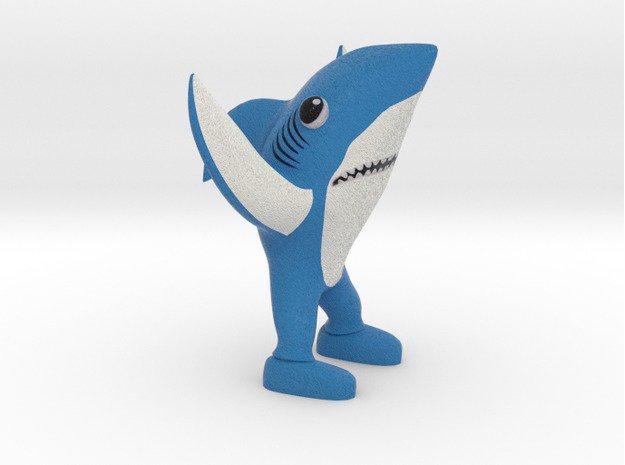 3d printed super left shark 1