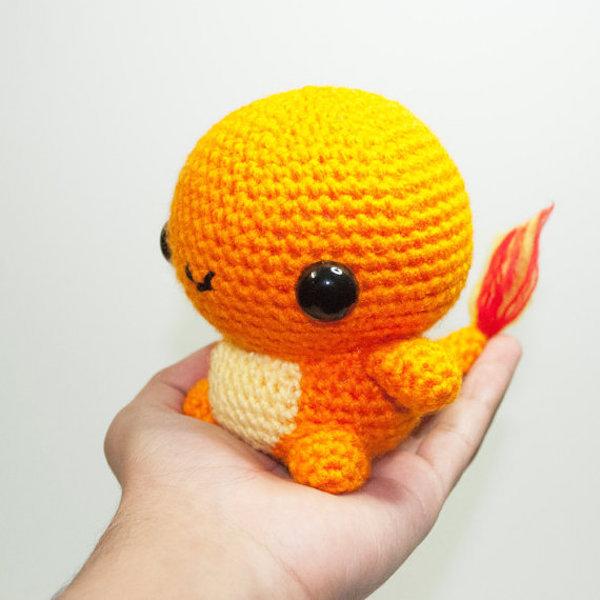 Amigurumi Pokémon Charmander by Johnny Navarro image