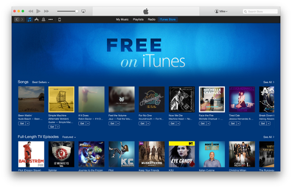 Apple Free On iTunes