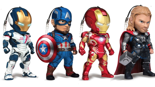Avengers Phone Charms 1