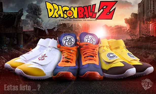 Dragon Ball Sneakers 1