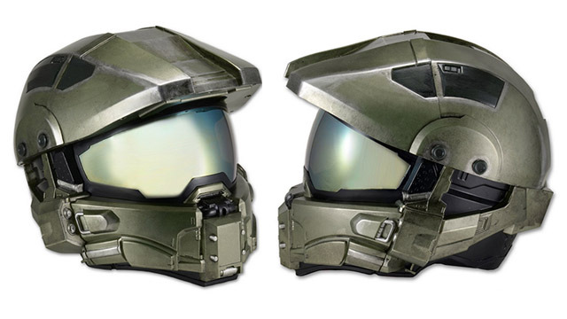 Halo helmet for motorcycles: almost cosplay?
