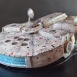 Millennium falcon cake 2
