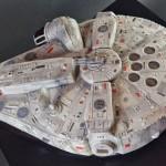 Millennium falcon cake 4