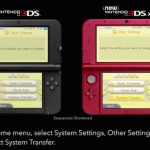Nintendo 3DS XL System Transfer image