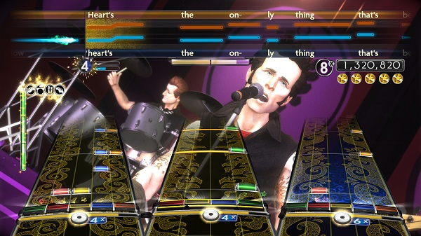 Rock Band Green Day screenshot