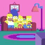Simpsons Pixel Art 1