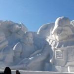 Star Wars Snow Sculpture 1