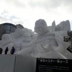 Star Wars Snow Sculpture 2