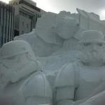 Star Wars Snow Sculpture 4