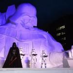 Star Wars Snow Sculpture 5
