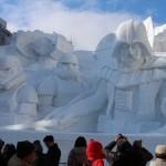 Star Wars Snow Sculpture 7