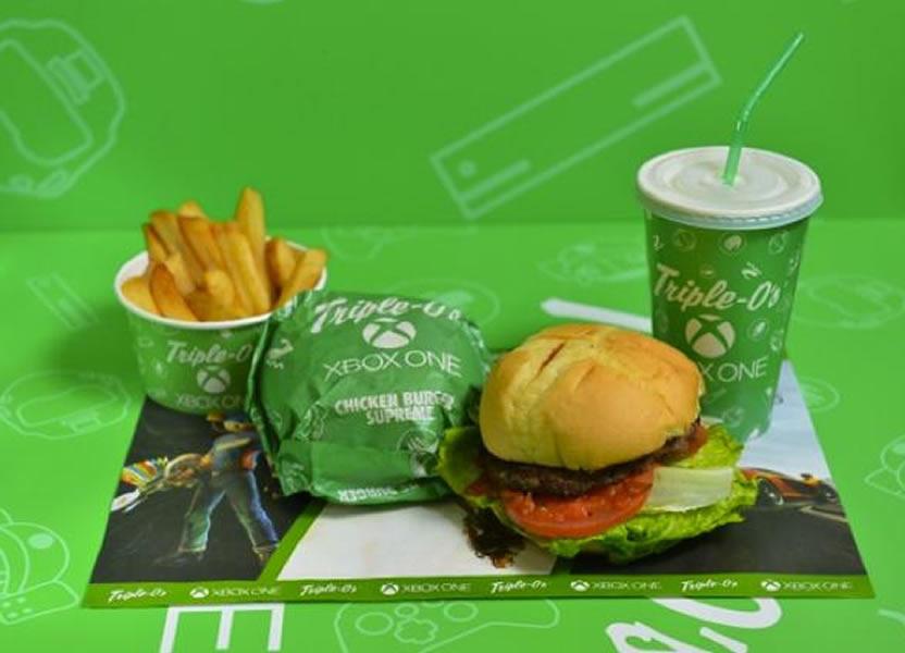 Xbox Burger 1