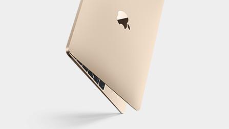 Apple Macbook gold