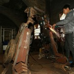 Scrap Metal Transformers Sculptures 02