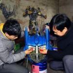 Scrap Metal Transformers Sculptures 04