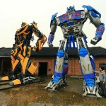 Scrap Metal Transformers Sculptures 05