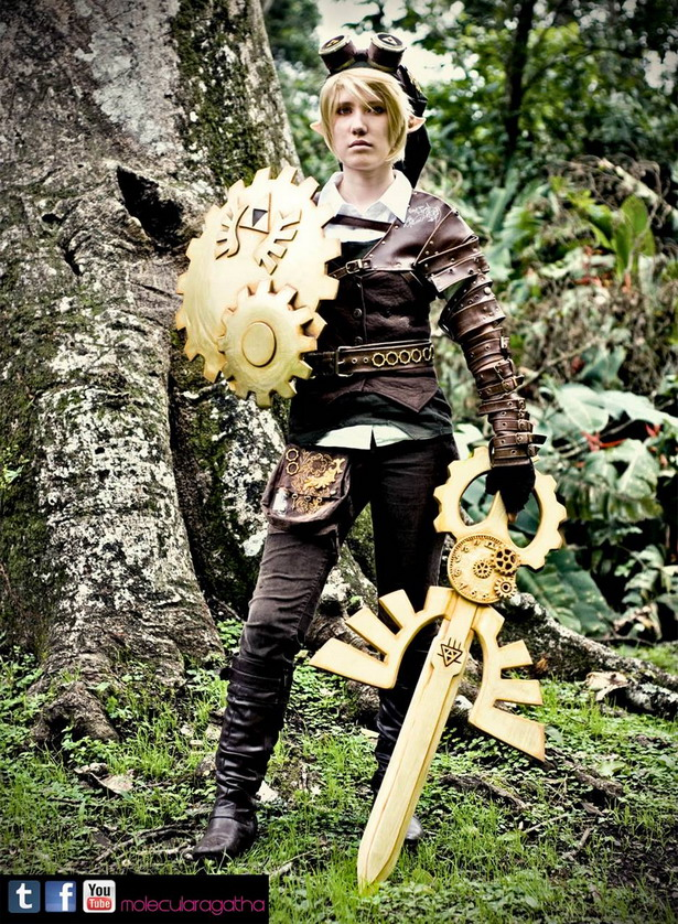 Steampunk Link Cosplay 1