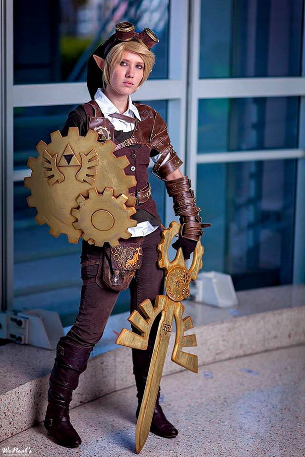 Steampunk Link Cosplay 2