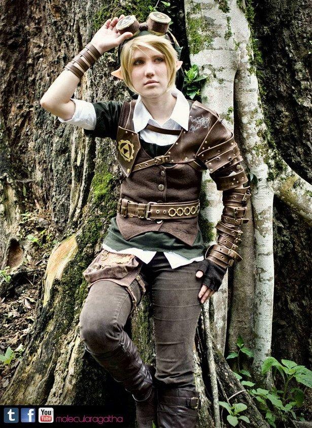 Steampunk Link Cosplay 3