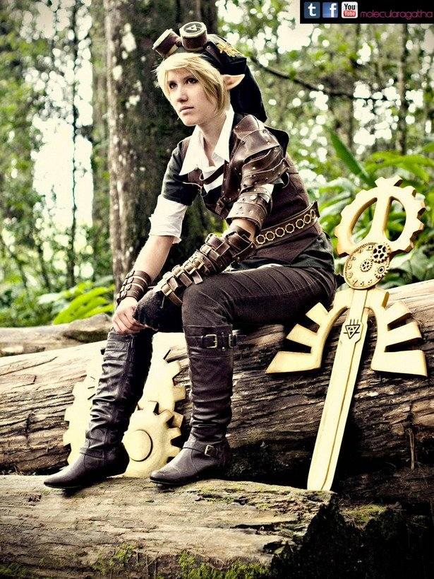 Steampunk Link Cosplay 4