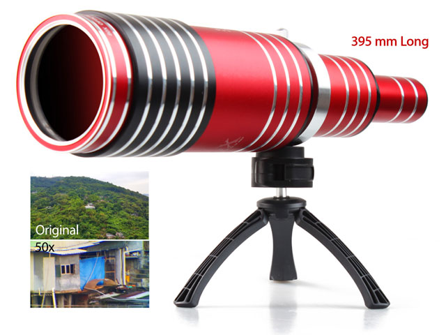 Portable telescope adds optical zoom to your iphone walyou