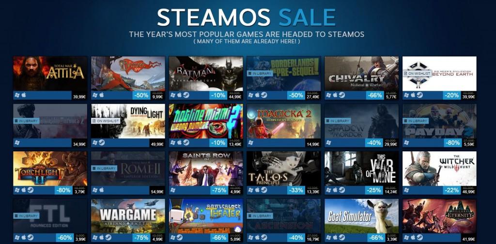 Steam OS Sale