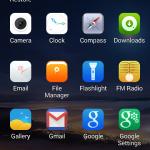 Kingzone Z1 – App Drawer 01
