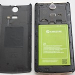 Kingzone Z1 – Battery and NFC