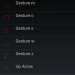 Kingzone Z1 – Custom Screen Gestures