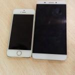 LeTV X600 vs iPhone 6 01