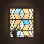 Stained Glass Window – Solar Power 01