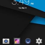 Ulefone Be Pure Home Screen