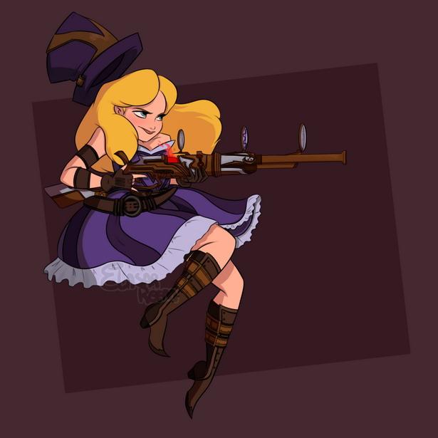 Disney Alice LoL