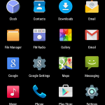 Mlais M7 App Drawer
