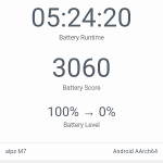 Mlais M7 GeekBench 3 Battery Test 01
